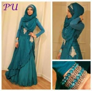 Aaliya maxy layer Dress by PU Pop Up