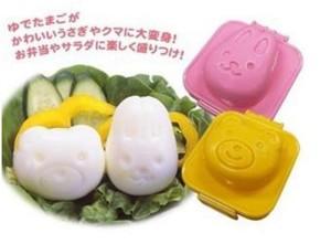 Bear Bunny Egg Mold (cetakan telor rebus / nasi) bntuk kelinci beruang