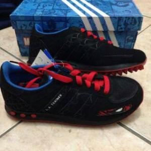 Jual Sepatu Anak Laki Adidas LA Trainer Spiderman Edition