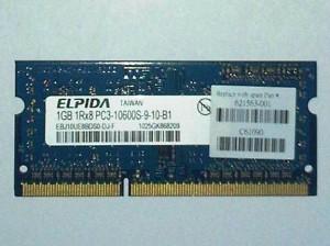 SODIMM DDR3 PC10600 ELPIDA