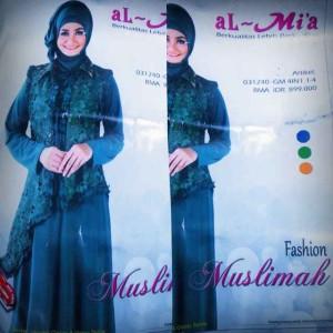 Jual Gamis Pesta Mewah Baju Muslim Al Mi 39 A 4 In 1 Murah