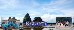 Wisata Murah Pantai Sawarna