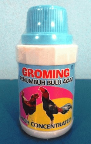 GROMING 100 ml - Penumbuh Bulu Ayam