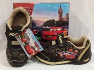 harga Sepatu anak - Disney Cars McQueen - Brown Tokopedia.com