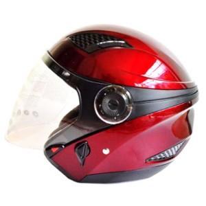 Helm Zeus 610 replika nolan - red wine