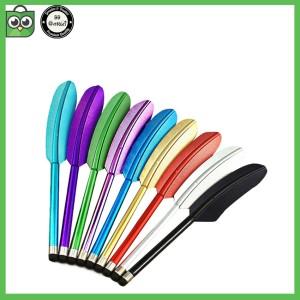 Feather Capacitive Stylus Touch Screen Pen ( Pena stylus bulu ayam )