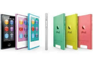 IPOD NANO 7th 16gb blk/sil/gold/pink/blue grs resmi