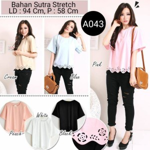 Blouse Sutra Stretch A043