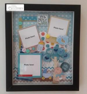 harga scrapframe, scrapbook in frame, bingkai, frame foto, scrap babyborn Tokopedia.com