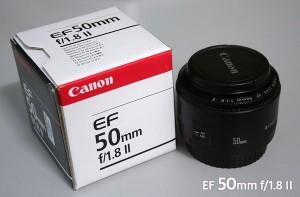 Lensa Fix Canon EF 50mm f/1.8 II