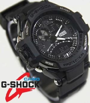 Jam Tangan Casio G-shock Ga1000 Full Black (Timex,Puma,Digitec,Adidas)
