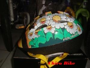 Helm sepeda anak Polygon