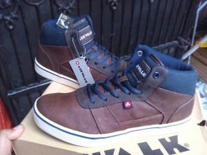 AIRWALK CHAZ II brown sepatu sekolah casual sneaker original