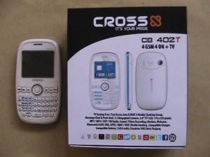 HP 4 KARTU GSM..CROSS CB 402 T..KONDISI MATOT/MALES REPAIR..JUAL CEPAT