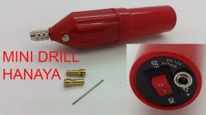 harga HANAYA Mini Drill with saklar ON-OFF + collet 2pcs + mata bor Tokopedia.com