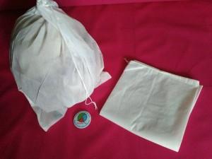 Dust Bag - Pelindung Debu - Cover Tas/Topi/Helm (50x50cm tali serut)