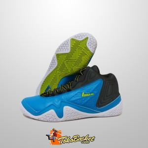 harga Sepatu Basket League Levitate Biru Abu Original Tokopedia.com