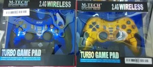 Gamepad Stick Wireless Single 3 IN 1 TURBO PC PS2 PS3