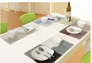 Alas Makan / Alas Piring / Table Mat PVC Anti slip