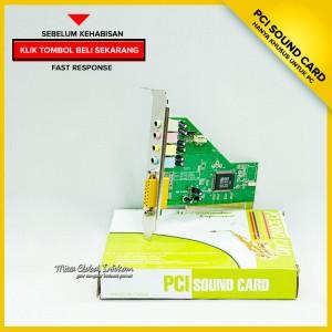 harga PCI Sound Card Tokopedia.com