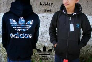 harga Jaket Trendy - Adidas Flower Tokopedia.com