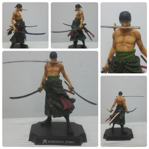harga Anime Toy One Piece Roronoa Zoro PVC Figure Tokopedia.com