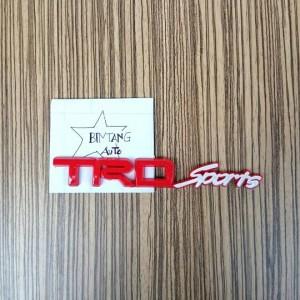 Emblem TRD Sport Merah