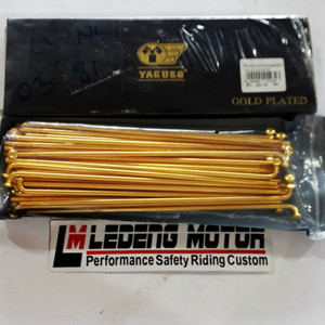 harga Ruji Jari Jari Gold Racing Yaguso Thailand 9-10x129 Tokopedia.com