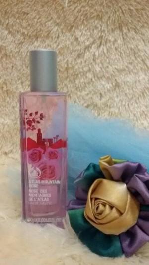 "Parfum Body Shop Ori Reject ""ATLAS MOUNTAIN ROSE 50ML"""