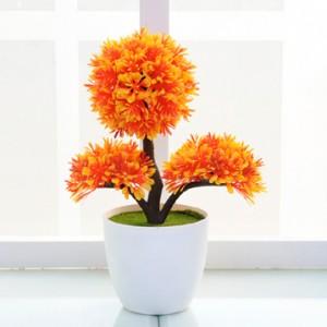 harga New Artificial Little Pot Bonsai Tokopedia.com