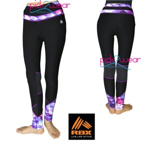 harga RBX Active Legging Black Purple Tokopedia.com