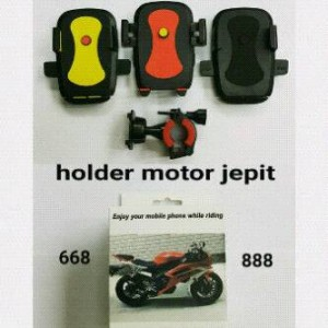 Holder Motor Jepit / Sepeda / Bicycle Phone Holder