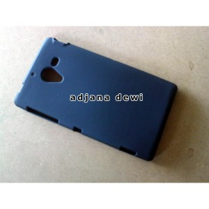 SONY XPERIA ZL L35H C6502 C6503 C6506 SILIKON SOFT CASE HITAM