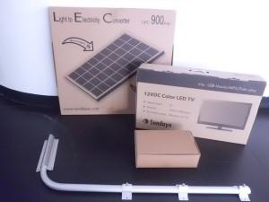 PLTS Sundaya JouleBox1000 Lightkit 8 Lampu With LCD Tv Sundaya
