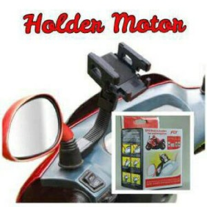 Holder Motor Spion / Sepeda / Bicycle Phone Holder