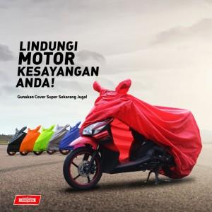 Cover Motor Super untuk Matic dan Bebek