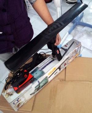 harga Antena TV REMOTE Q2 DIGITAL Outdoor UHF VHF Remot LED ROTATING ANTENNA Tokopedia.com