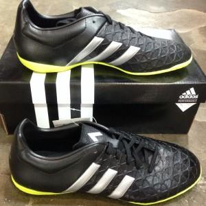 harga Adidas Ace 15.4 IN Hitam Metal Size 41 1/3. Sepatu Futsal Tokopedia.com