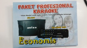 PAKET KARAOKE AVINO Amplifiers, Speaker Pasif