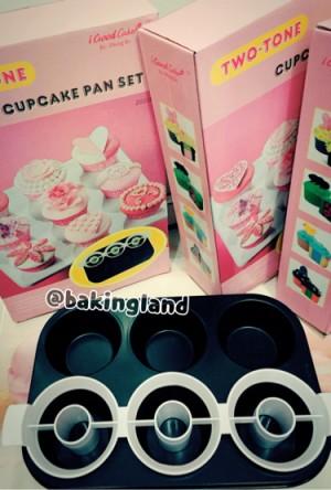 harga loyang two tone circle cupcake Tokopedia.com