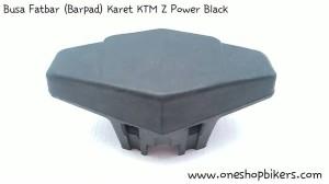 Busa Fatbar (Barpad) Karet KTM Z Power Black