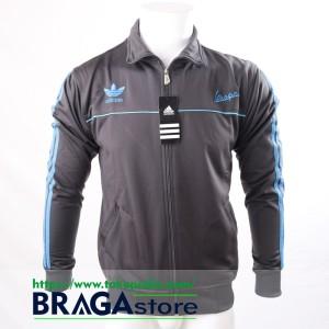 harga Jaket Adidas Vespa Gray - Blue, Jaket Casuals Tokopedia.com