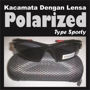 Kacamata Polarized, Anti Kabut, Redam Silau Gratis Casing