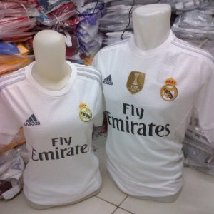 Jersey Couple Real Madrid Home 2015/2016