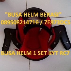 BUSA HELM KYT RC7 1 SET