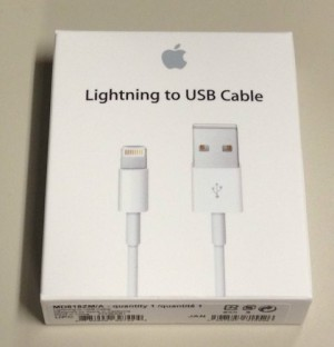 Kabel data iphone5 original