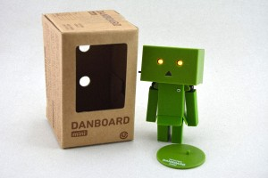 Mini Boneka Danbo Amazon Danboard - Hijau