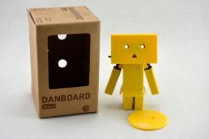 Mini Boneka Danbo Amazon Danboard - Kuning