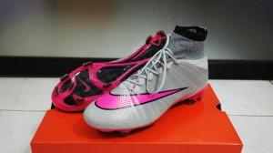 harga Soccer Nike Mercurial Superfly Flyknit Silver Pink (Grade Ori Import) Tokopedia.com