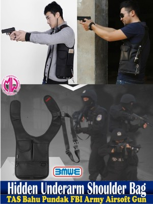harga tas army airsoft gun security Holster airsofgun bag Hiking Camp wallet Tokopedia.com